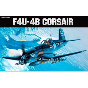 Academy 12267 Сборная модель самолёта VOUCHT F4U-4B CORSAIR (1:48)
