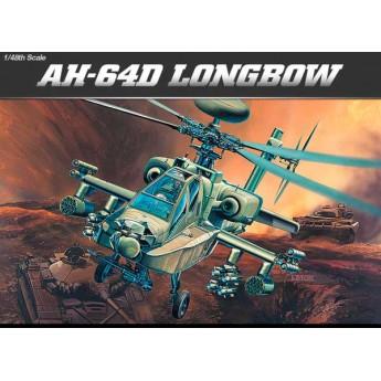 Модель вертолета AH-64D LONGBOW (1:48)