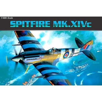 Academy 12274 Сборная модель самолета Spitfire Mk.14C (1:48)
