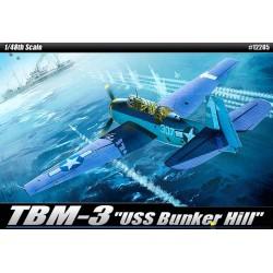 Academy 12285 Сборная модель самолета TBM-3 Эвенджер (1:48)