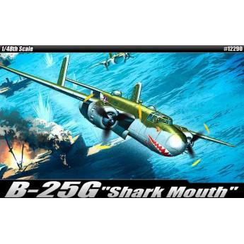 "Модель самолета B-25G ""Shark Mouth"" (1:48)"