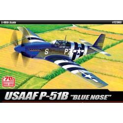 "Academy 12303 Сборная модель самолета USAAF P-51B ""Anniv. 70 Normandy invasion 1944"" (1:48)"