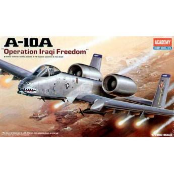 """Academy 12402 Сборная модель самолета A-10 """"Тандерболт"""" II в Ираке (1:72)"""