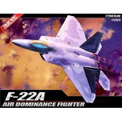 Academy 12423 Сборная модель самолета F-22 Raptor (1:72)