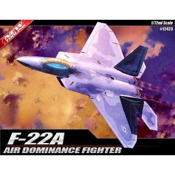 Модель самолета F-22 Raptor (1:72)