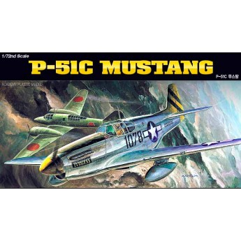 Модель самолета P-51C (1:72)