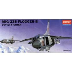 Academy 12445 Сборная модель самолета МиГ-23С Flogger-B (1:72)