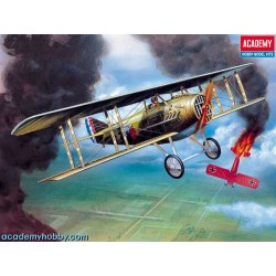 Academy 12446 Сборная модель самолета SPAD XIII WWI FIGHTER (1:72)