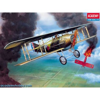 Модель самолета SPAD XIII WWI FIGHTER (1:72)