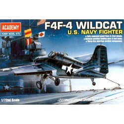 Academy 12451 Сборная модель самолета GRUMMAN F4F-4 WILDCAT (1:72)