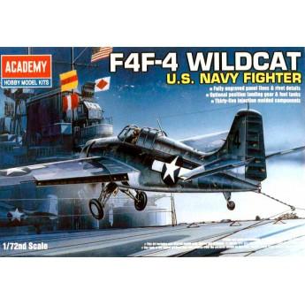 Модель самолета GRUMMAN F4F-4 WILDCAT (1:72)