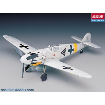 Academy 12454 Сборная модель самолета Messerschmitt Bf-109G-14 (1:72)