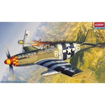 Модель самолета P-51B Мустанг (1:72)