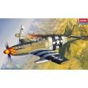 Academy 12464 Сборная модель самолета P-51B Мустанг (1:72)