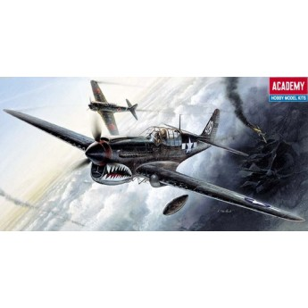 Модель самолета P-40M/N Warhawk (1:72)