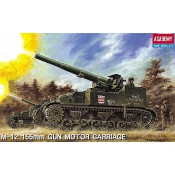 Academy 13268 Сборная модель САУ 155-мм самоходное орудие М12 (1:35)