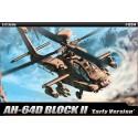 """Academy 12514 Сборная модель вертолета AH-64D """"Апач"""" (1:72)"""