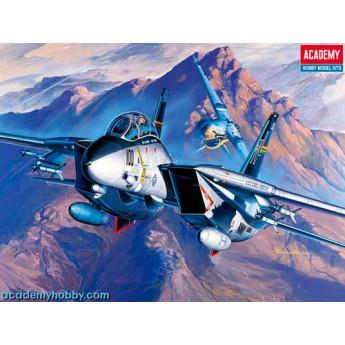 Academy 12471 Сборная модель самолета F-14A (1:72)
