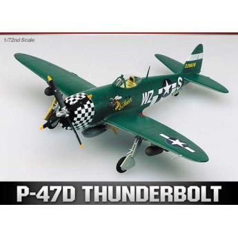 Модель самолета P-47D Thunderbolt (1:72)