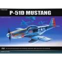 Academy 12485 Сборная модель самолета P-51D (1:72)