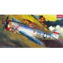 "Academy 12491 Сборная модель самолета P-47D ""BUBBLE-TOP"" (1:72)"