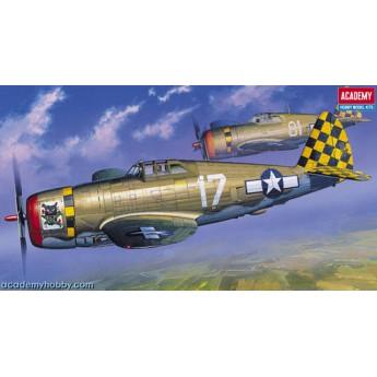 Academy 12492 Сборная модель самолета P-47D Thunderbolt Razor (1:72)