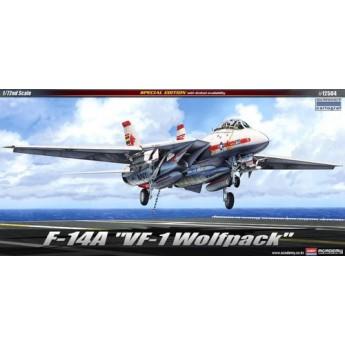 "Модель самолета F-14A ""VF-1 WOLF PACK"" (1:72)"