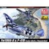 "Academy 12513 Сборная модель самолета P-47D & FW190A-8 ""Annv.70 Normandy Invasion 1944"" (1:72)"
