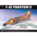 Academy 12605 Сборная модель самолета F-4E PHANTOM II (1:144)
