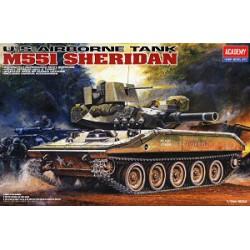 """Модель танка M-551 """"Шеридан"""" (1:35)"""
