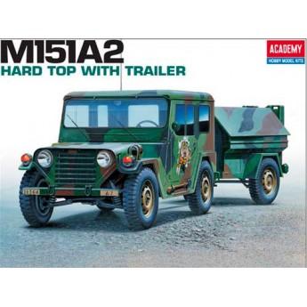 Academy 13012 Сборная модель автомобиля М151А2 (1:35)