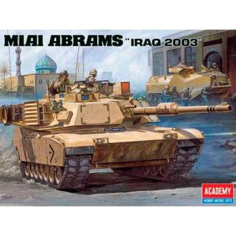 """Модель танка М1А1 """"Абрамс"""" в Ираке (1:35)"""