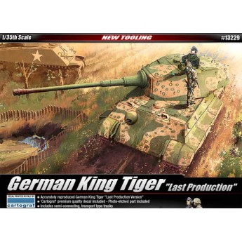 Модель танка KINGTIGER (1:35)