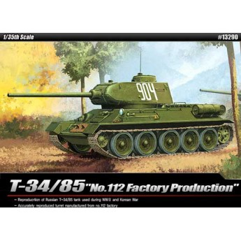 "Модель танка T-34/85 ""№112 Factory Production"" (1:35)"