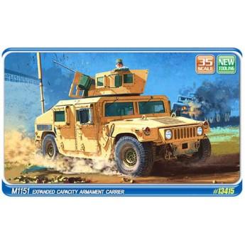 Academy 13415 Сборная модель автомобиля M1151 Хаммер (1:35)