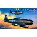 Dragon 5080 Сборная модель самолета F6F-5N HELLCAT NIGHT VERSION (1:72)