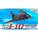 Dragon 51019 Собранная и окрашенная модель самолета USAF F-117 NIGHTHAWK 37 TFW (1:144)
