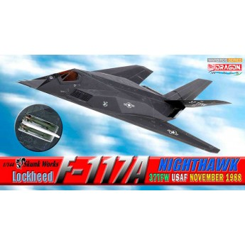 Модель самолета LOCKHEED F-117A NIGHTHAWK 37TFW USAF NOVEMBER 1988 (1:144)