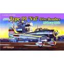 """Модель самолета Aichi TYPE 99 """"VAL"""" MIDWAY 1942 (1:72)"""