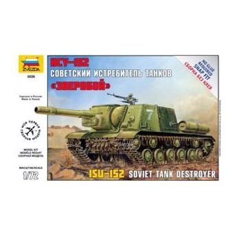 Модель танка ИСУ-152 (1:72)