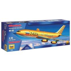 Модель самолета Ил-86 Юбилейный (1:144)