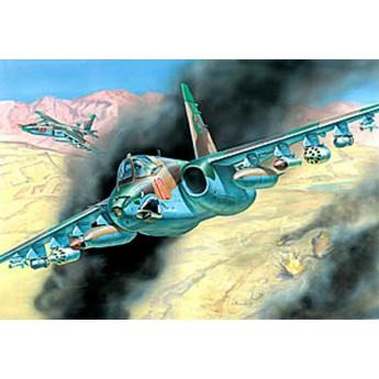 Модель самолета Су-25 (1:72)