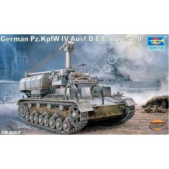 Trumpeter 00362 Сборная модель транспортера Pz Kpfw IV Ausf D/E (1:35)