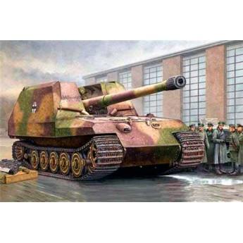 """Модель САУ с 17см. К72 """"Грилле"""" II (1:35)"""