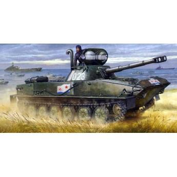 Trumpeter 00381 Сборная модель танка ПТ-76Б (1:35)