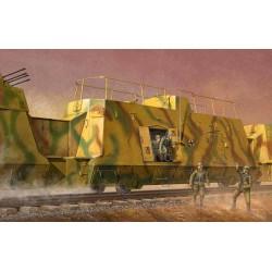Trumpeter 01510 Сборная модель штабного броневагона (1:35)