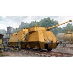 Trumpeter 01516 Сборная модель немецкого противотанкового броневагона (1:35)