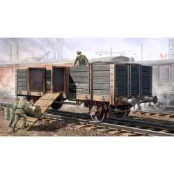 Модель железнодорожный полувагон (1:35)
