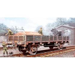 Модель немецкая железнодорожная платформа (1:35)
