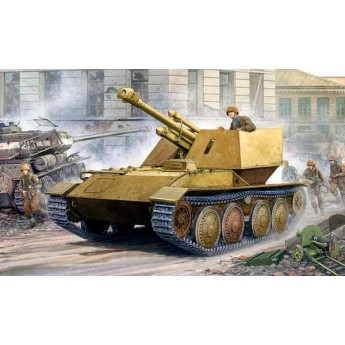 Модель САУ Крупп/Арделт 105-мм leFH 18 (1:35)